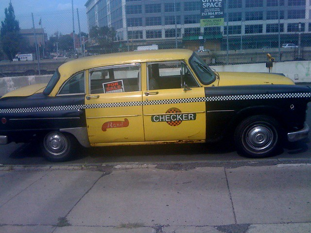 checker cab for sale red penny flickr. Black Bedroom Furniture Sets. Home Design Ideas