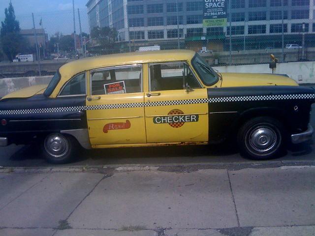 checker cab for sale red penny flickr. Black Bedroom Furniture Sets. Home Design Ideas