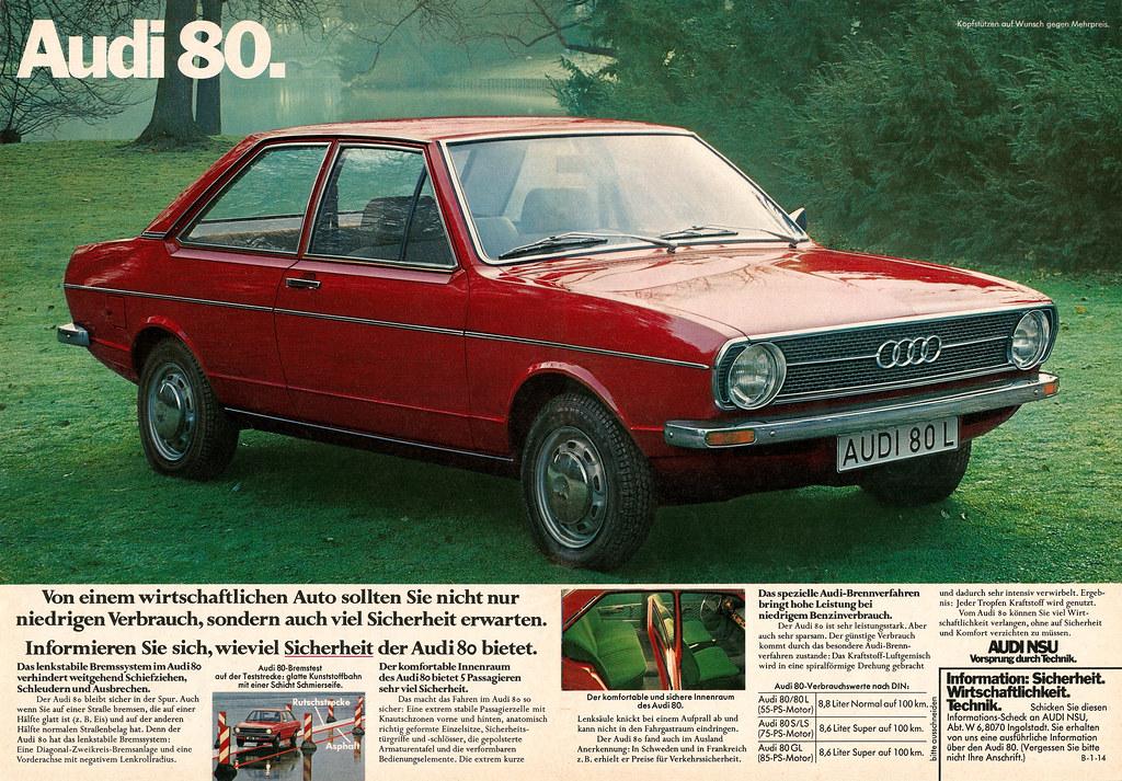 Audi 80 L (1974) | jens.lilienthal | Flickr