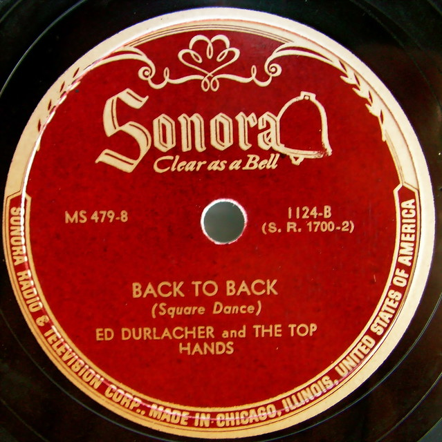 Sonora vintage record label flickr photo sharing for Classic house record labels