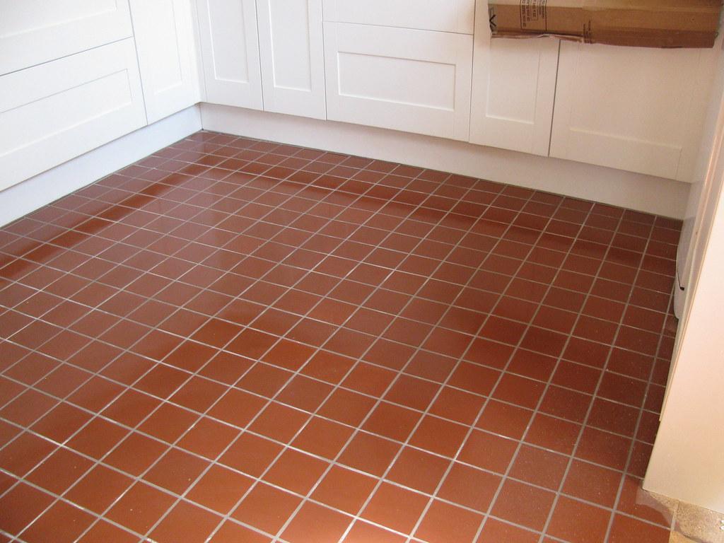 Quarry Tile Kitchen Floor Valleytiling Flickr