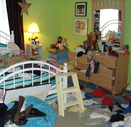 Daughter's Messy Room | by Rubbermaid Products