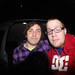 Josh Franceschi and Rob Highcroft (Tour Manager) From You Me At Six