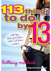"""113 Things to do by 13"" 