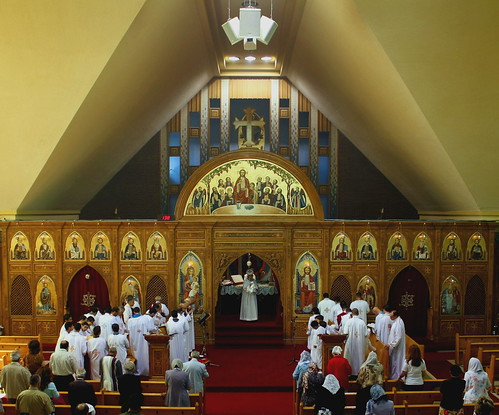 St Mark S Coptic Church Montreal The Haziness Near The