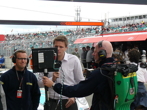 BBC F1's Jake Humphrey | by textlad