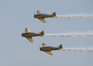 Canadian Harvard Aerobatic Team | by cetaylor