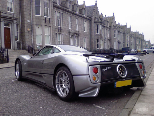 Pagani Zonda C12s 7 3 Aberdeen Scotland As It Is Now