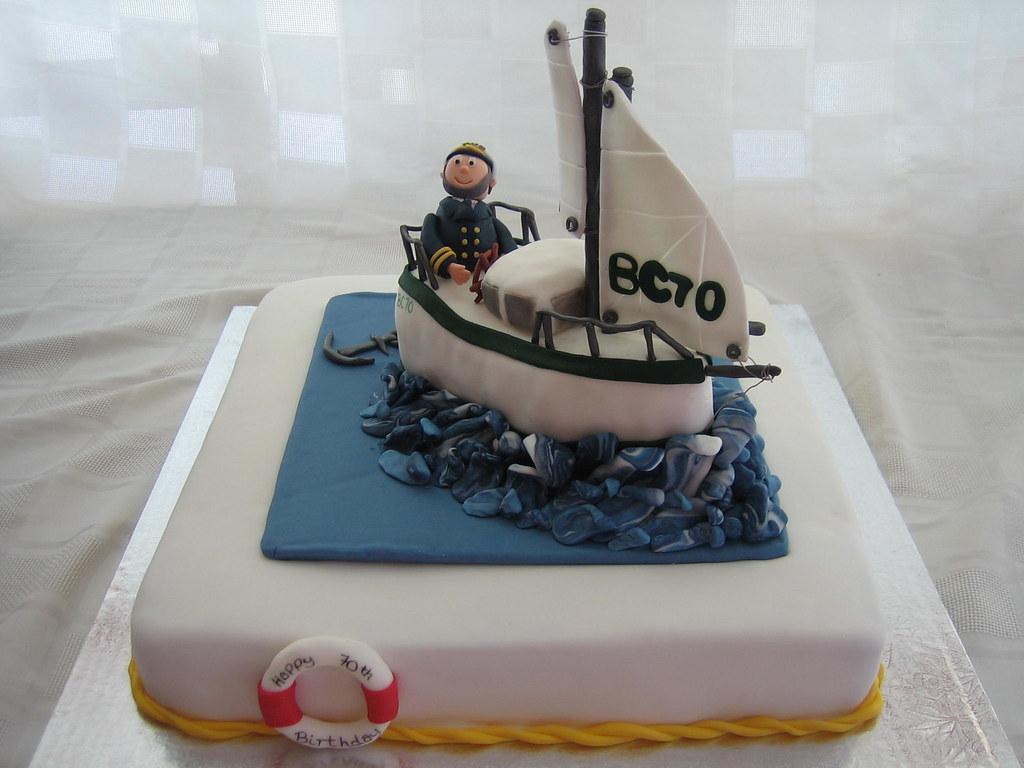 Log Birthday Cake