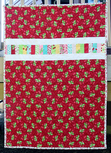 Moda Oh Cherry Oh Stacked Coin Quilt Back | by Fresh Lemons : Faith