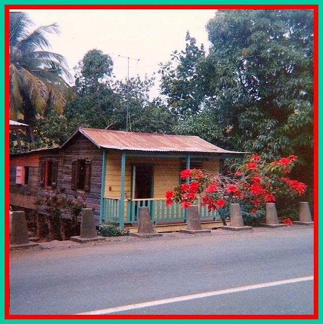 Casita Tipica De Puerto Rico 1960 39 S Typical House In Pue