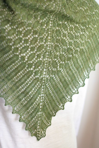 spider stitch shawl | by (caryatid)