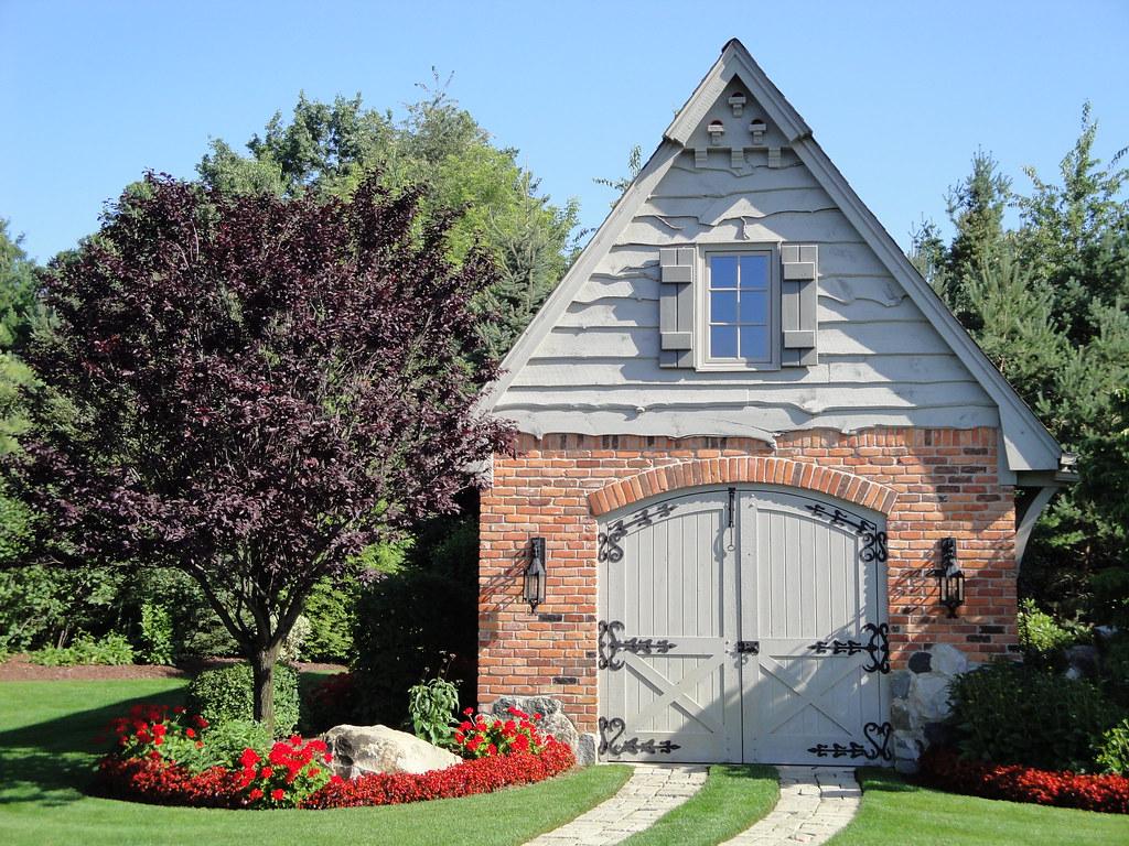 Brick Garden Shed Garage Deborah S Gardens Sunshine