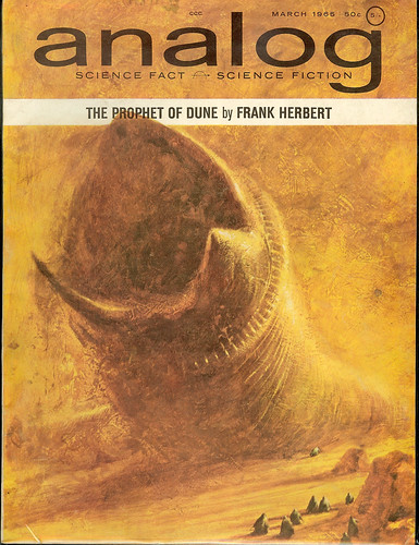 Analog Magazine - March 1965 - Prophet of Dune part 3 of 5 -  cover by John Schoenherr | by Cadwalader Ringgold