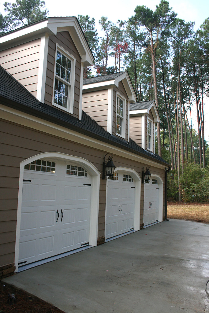 3 car garage addition w bonus room above flickr for How much to add a garage with bonus room