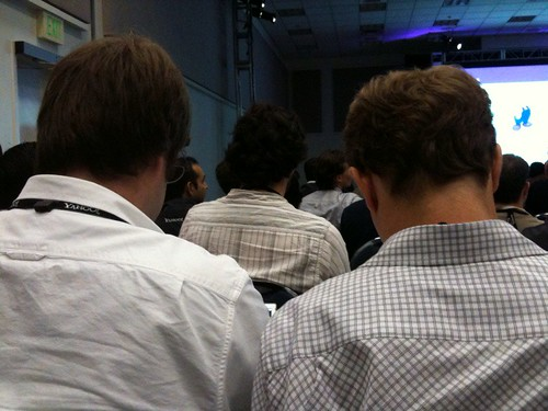 People at a conference. | by jspaw