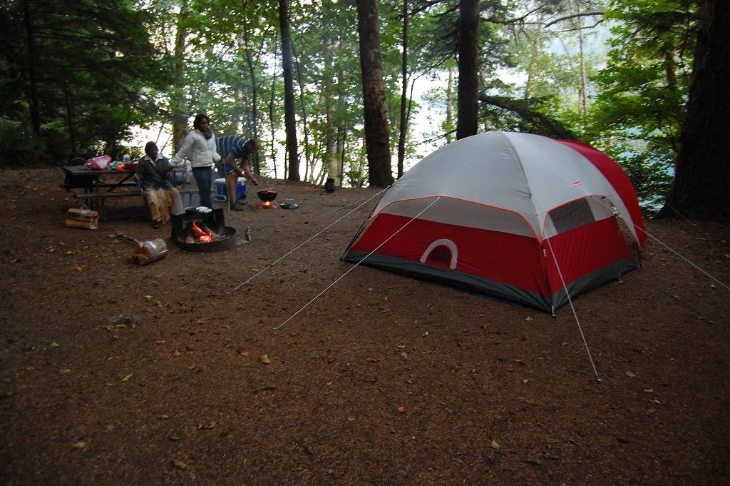 ... Camping @ Lake Crescent | by Tale Of Two Foodies