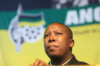 South African ruling party youth league president Julius Malema has reiterated the call for the nationalisation of industries inside the country. | by Pan-African News Wire File Photos