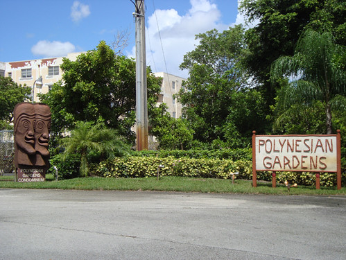 Polynesian Gardens - Plantation, FL | The front entrance | Tiki ...