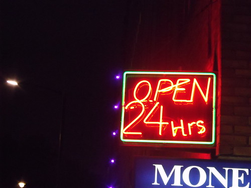 Open 24 Hrs - Money Change | by ell brown