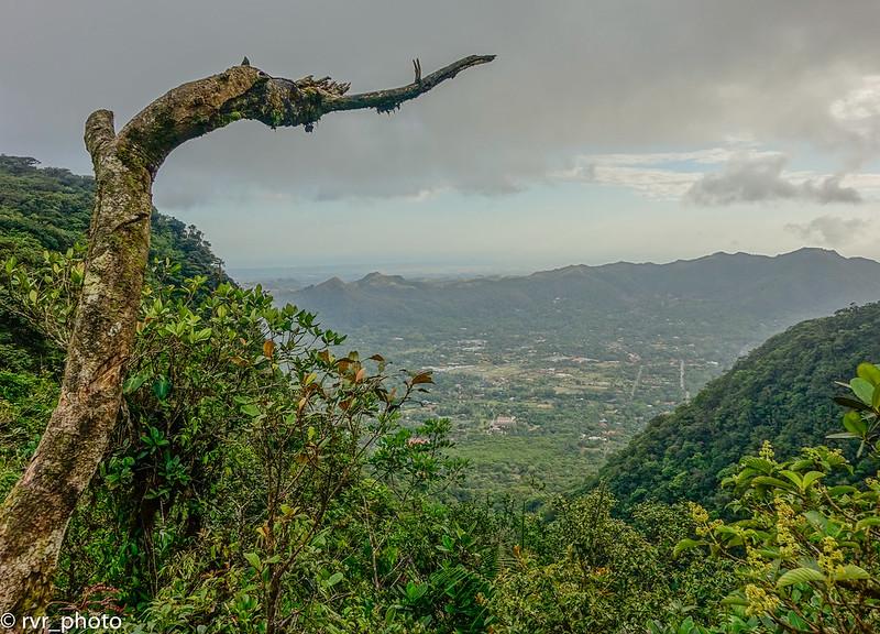 Panorámica desde Cerro Gaital, Valle de Anton