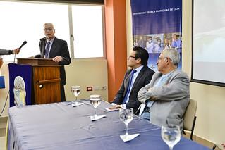 Presentación oficial y rueda de prensa del Observatorio Turístico Región Sur del Ecuador