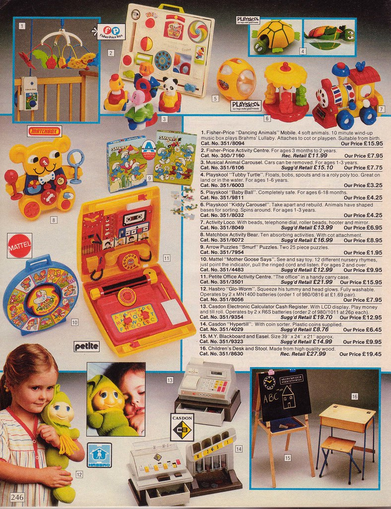 Vintage British Argos 1985 Catalogue Take A Blast Into