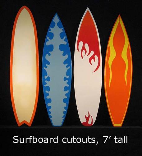 Surfboard cutouts, 7' tall   Jeff Kielmeyer   Flickr