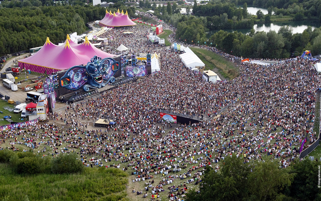 Tomorrowland Wallpaper Mainstage Aerial Overview This Free Flickr