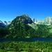 Spain- Pyrenees, San Mauricio Lake. Aigües Tortes National Park.