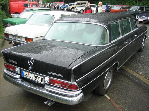 Mercedes Benz W112 300 Se Lang 2 Hamburg Stadtpark