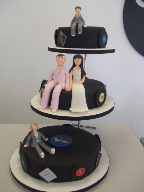 Music Wedding Cake By Wwwcakechestercouk This Was Made Flickr