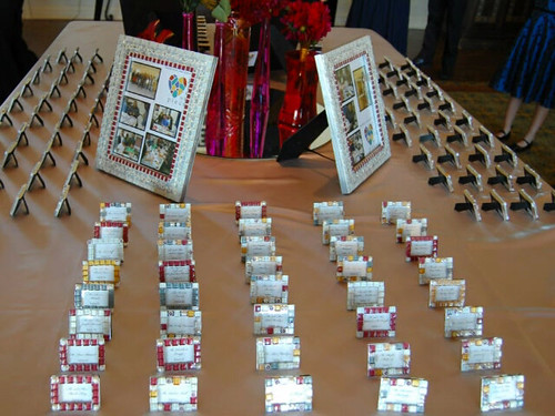 wedding favor place card frames | These beautiful individual… | Flickr