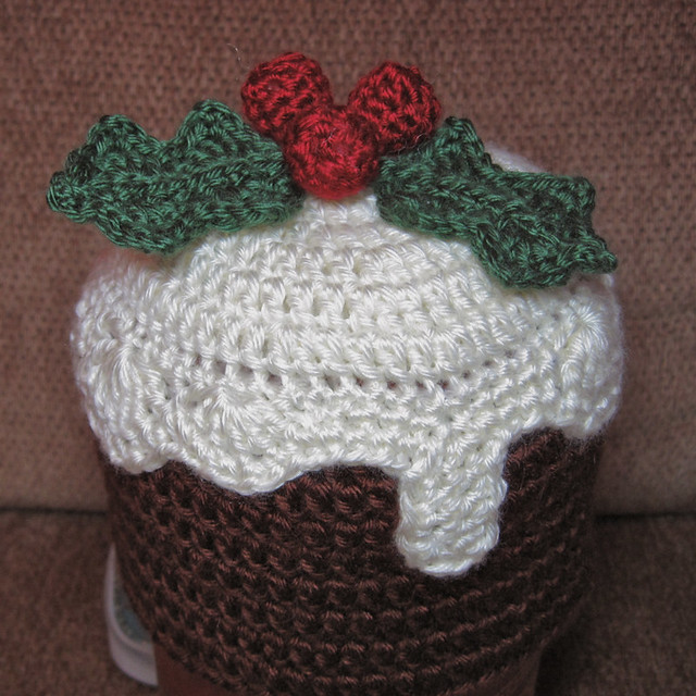 Christmas Pudding Hat This Is Sized For A 6 12 Month Old C Flickr