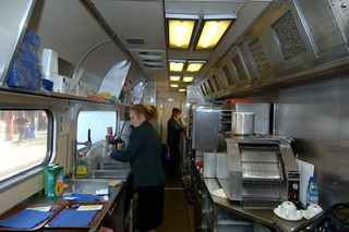 Train Chartering Kitchen On Private Charter Train Flickr
