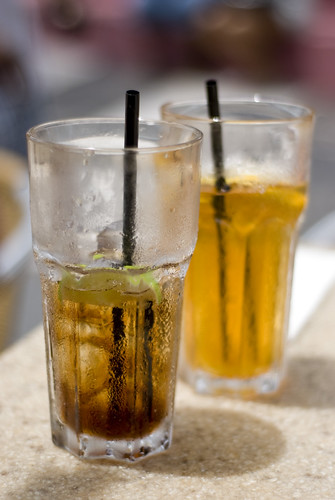 how to make coke ice tea