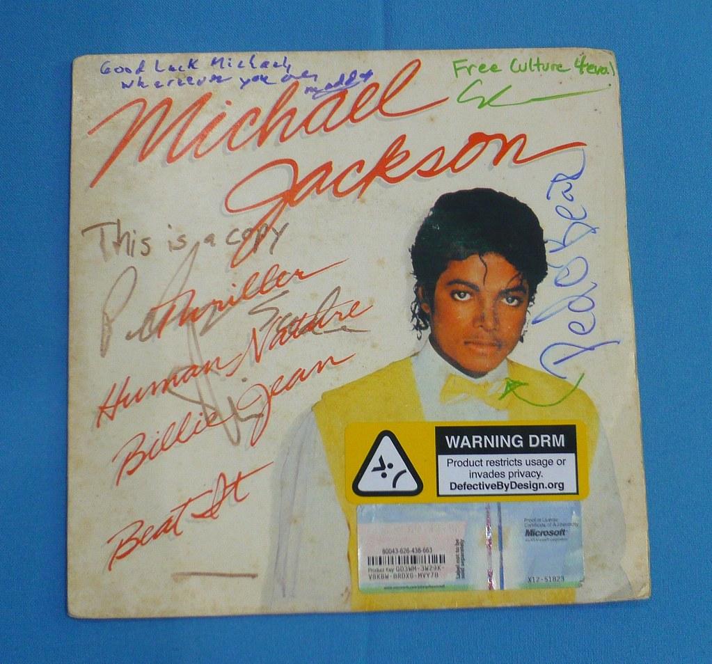 Adesivo De Carros Familia Feliz ~ Pirateando Jackson Michael Livre Capa de cópia de um vin u2026 Flickr