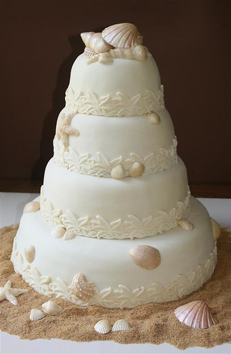 sea shell wedding cakes seashell wedding cake all chocolate mudcake with 19712
