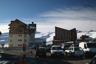 Valle Nevado: - Carpark & Hotels | by A u s s i e P o m m