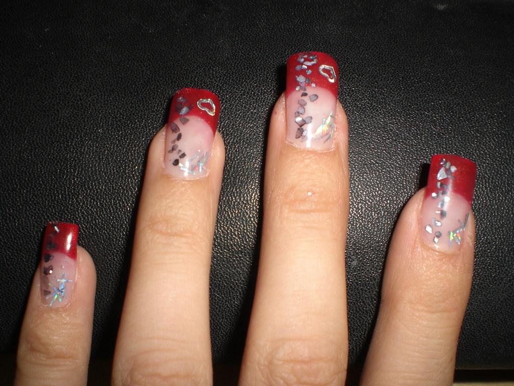 Uñas decoradas (mis manos)