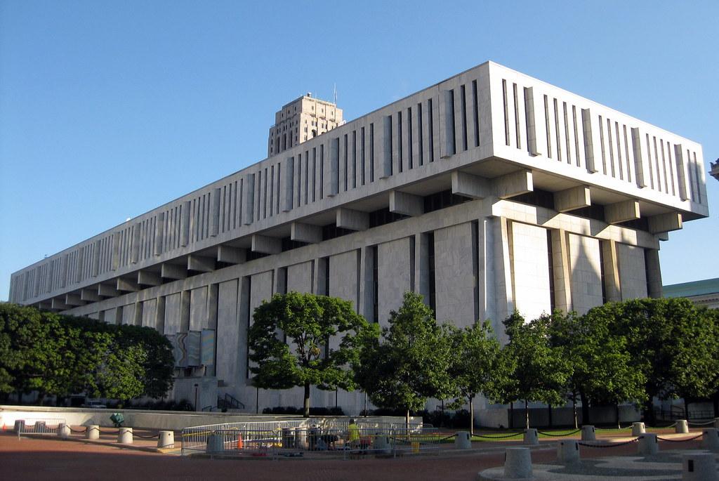 Ny State Legislative Office Building In Albany