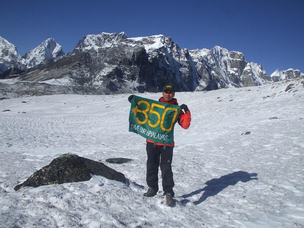Climate Change >> 350 on Everest: Pemba Dorje, 350.org Athlete | Pemba Dorje S… | Flickr