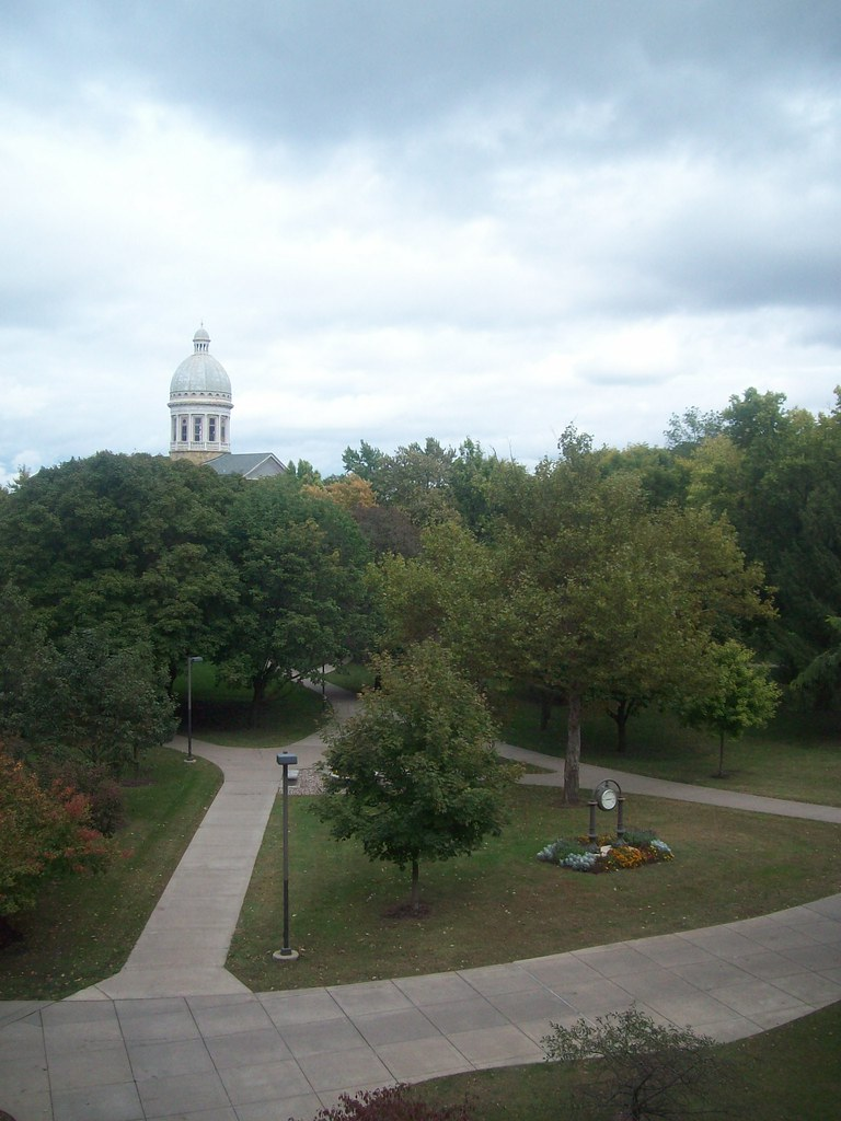 Augustana College Campus  As Seem From The Science Buildi