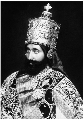 Emperor Haile Selassie Was Crowned King Of Kings Lord Of
