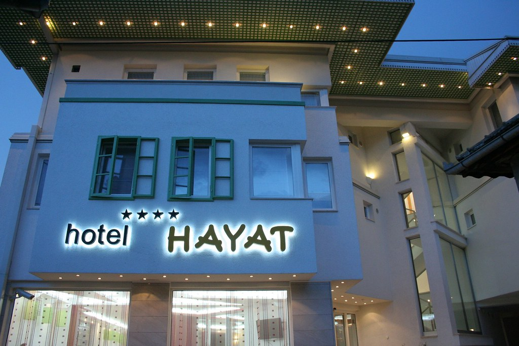 Hotel Hayat 7 Hotel Hayat Sarajevo Abdesthana 27 Www