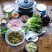 Deborah Kuo made samgyeopsal meal