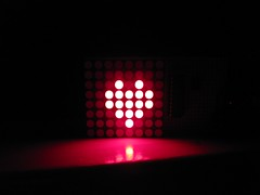 attiny2313 8x8 led-matrix | by gut-man