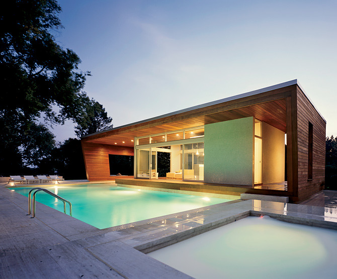 Beautiful Swimming Pool Houses