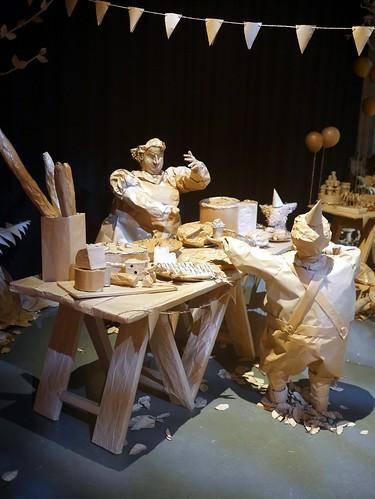 Roald Dahl - Paper Installation - 2