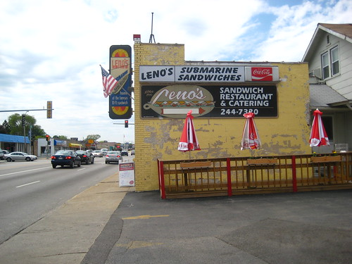 Leno's in Waukegan | by jacqui | happy jack eats